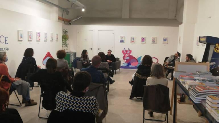 Presentación de UN INMENSO E INFINITO CONTINENTE de Néstor Mir Planells en librería Bagarang Valencia 25/11/2020