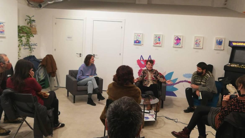 Presentación del libro HOLLYWOOD, LA ALPUJARRA de Blasco Marqués en librería Bangarang (04/12/2020)