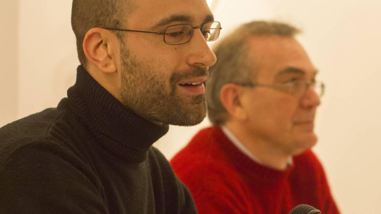 Presentación de «Trama de grises» de Jerónimo García Tomás en Valencia (07/03/2014)