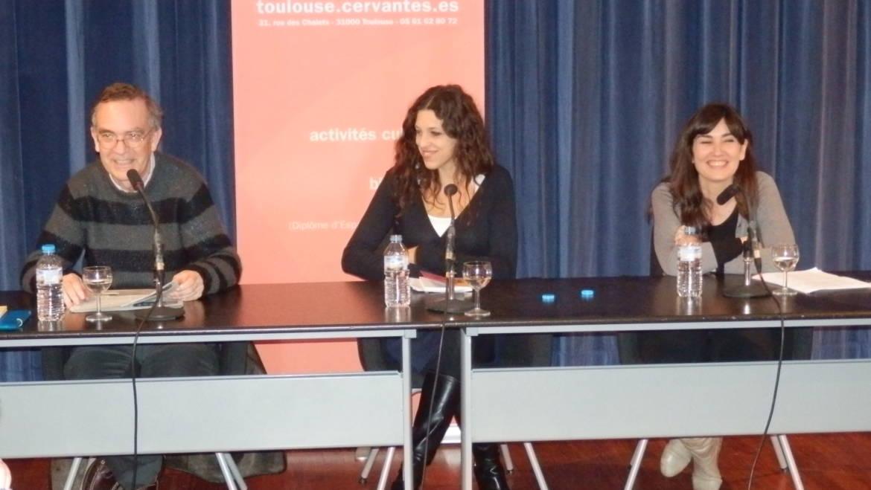 Presentación de «Suerte» y «Tan intertextual que te desmayás» en Toulouse: Universidad de Toulouse-Le Mirail e Instituto Cervantes (03/04/2014)