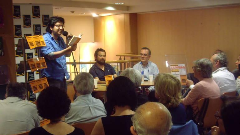 Presentación de «Mudanza» de Alejandro Zambra. Casa del Libro, Valencia (31/05/2014)