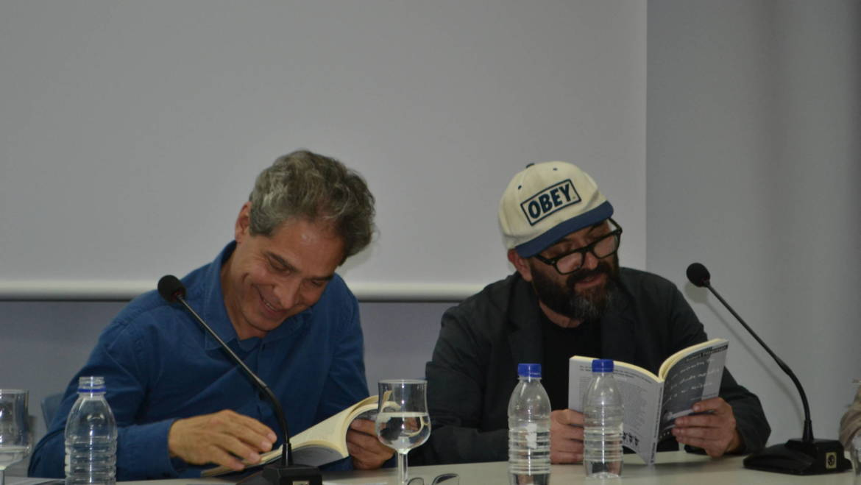 Rodrigo Rey Rosa y Robert Fitterman en Valencia. LA NAU, 15 de mayo con Manuel Turégano, Roger Swanzy y Xelo Candel