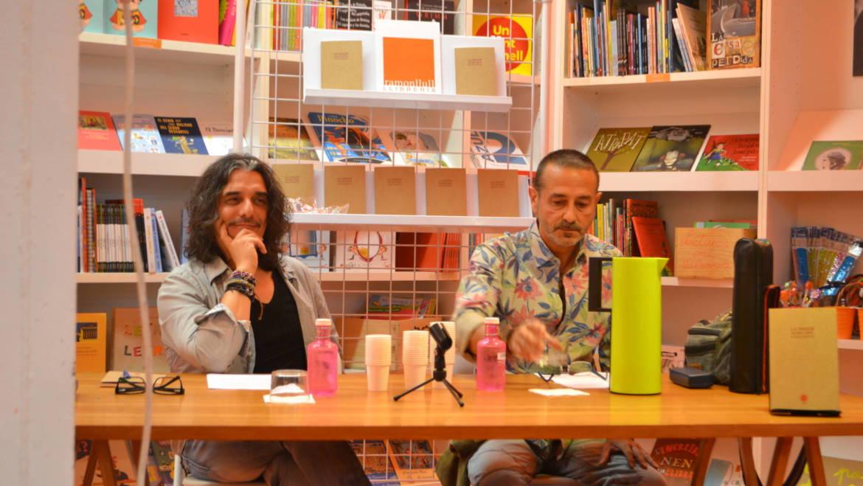 Presentación del libro «La pasión de ser débil» de Francisco Benedito con Vicente Gallego en la librería Ramon Llull (28/05/2015)