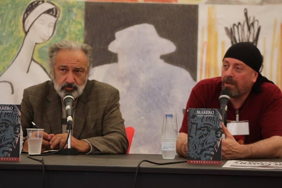 Presentación de «Marero» de José Luis Muñoz en la Semana Negra de Gijón. (13/07/2015)