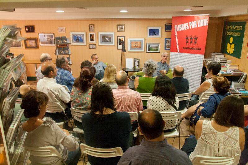 Iniciada la temporada de otoño con «Tableaux Vivants» de Javier Navarro en la Casa del Libro (11/09/2015)