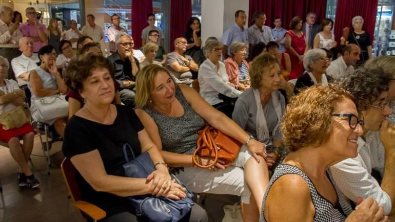 ERNESTO ENDARA presentó en La Fnac de Valencia «Panamá split» (22/09/2015)