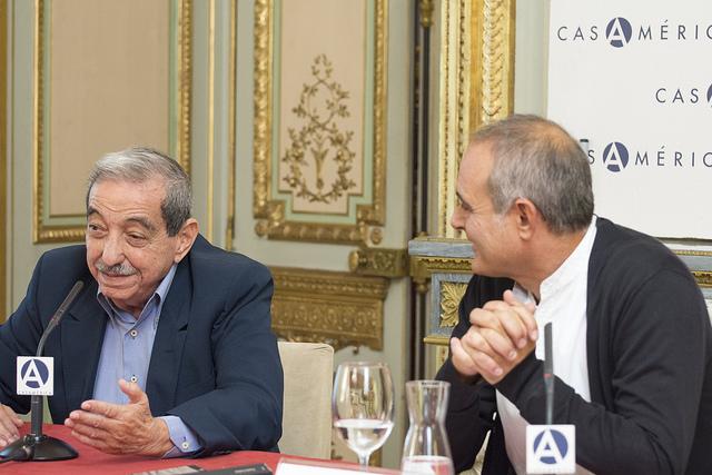 El escritor panameño Ernesto Endara presenta «Panamá split» en La Casa de América en Madrid (24/09/2015)