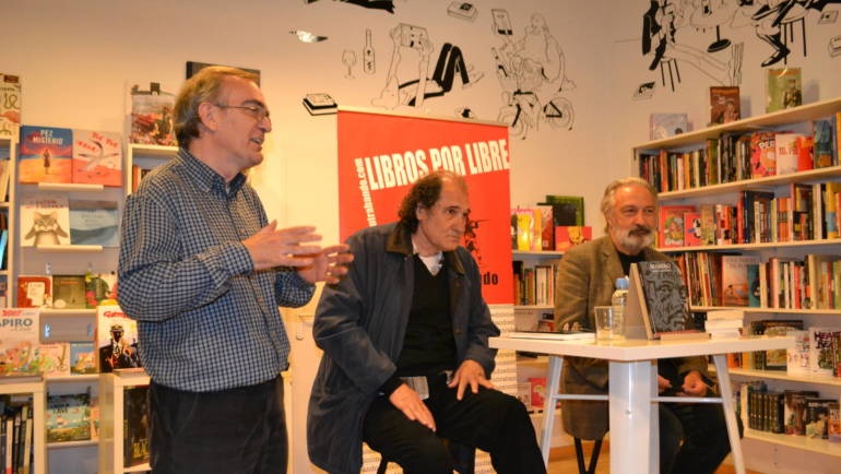 Presentación de «Marero» en Bartleby. José Luis Muñoz con Alfons Cervera (16/11/2015)