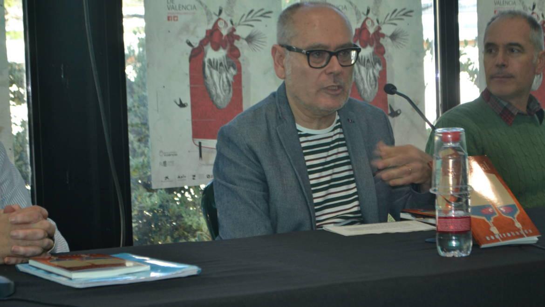 Presentación del libro de relatos «Lo normal» de Rafael Camarasa en la 52 Fira del Llibre (21/04/2017)