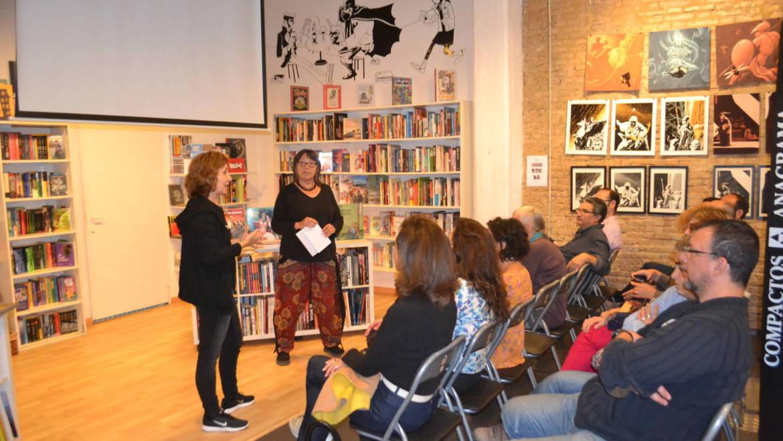 Recital y videoarte: Lola Andrés y Ramona Rodríguez al hilo de «Travesía» 5 de mayo 2017 en Bartleby