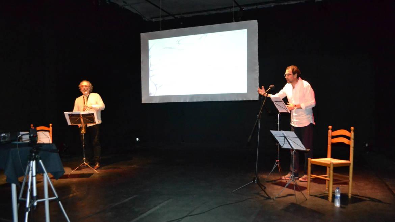 Presentación del poemario Vía Subterránea de Juan Carlos Torres en Valencia (09/06/2017)