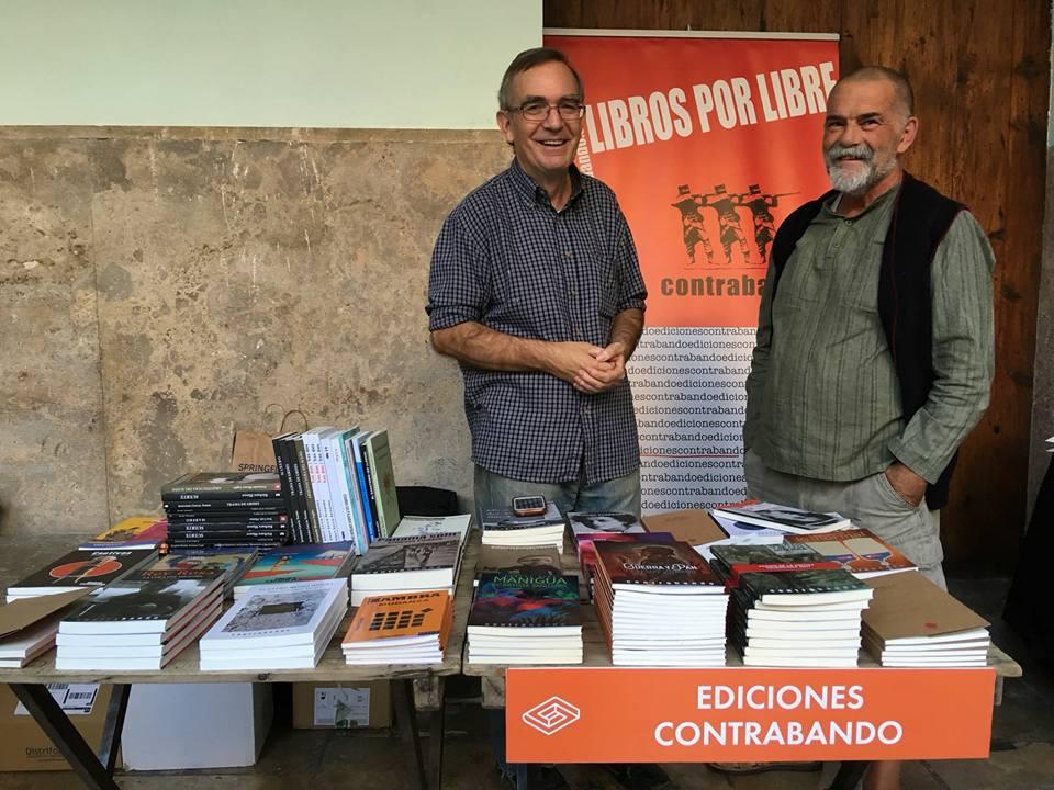 Ediciones Contrabando en Sindokma 2017 en el claustro de La Nau
