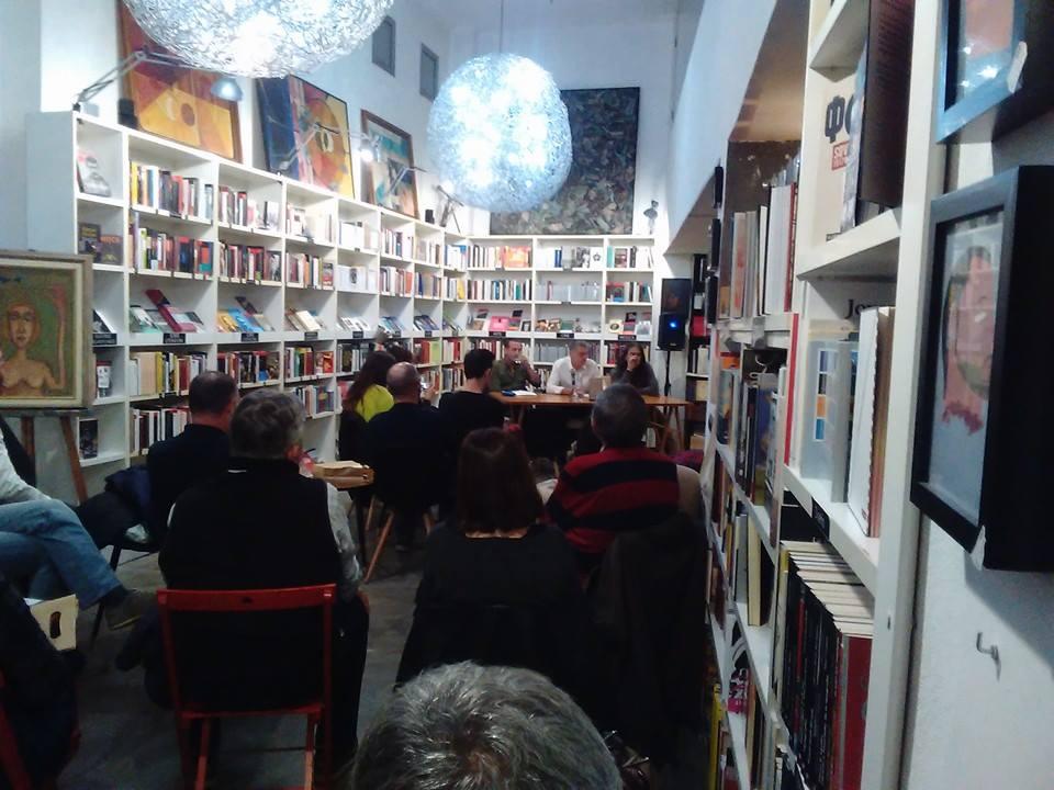 """Presentación del poemario """"Tessella"""" de Pepe Cervera en la Ramon LLull (10/11/2017)"""