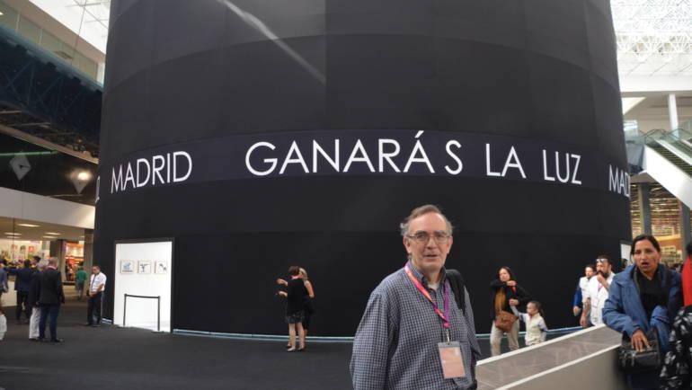 La presencia de Contrabando en la FIL de Guadalajara en México 2017. Manuel Turégano (editor)y Alejandro Espinosa (autor)