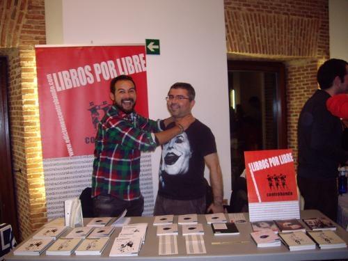 Ediciones Contrabando en «2013 Poetas por Km²» en Conde Duque, Madrid (17-19/10/2013)
