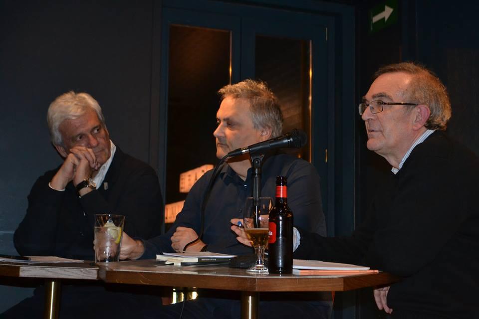 Presentación del libro de relatos «Guerra y Pan» de Jesús Zomeño en Café Comercial Madrid (05/02/2018)