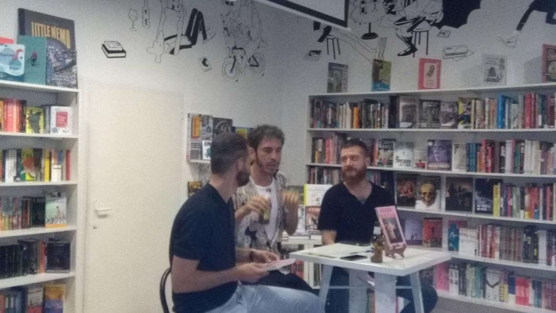 Presentación de «Saber matar» de Mr. Perfumme en Librería Bartleby, Valencia (27/09/2018)