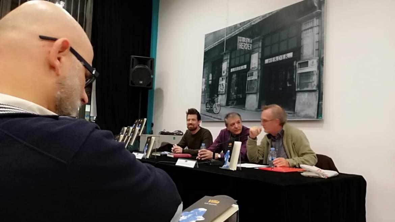 Presentación de «Villa» de Luis Gusmán en Barcelona (04/02/2019)