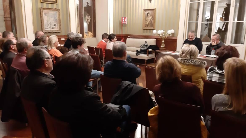 """Presentación de """"EL cielo de Kaunas"""" de Jesús Zomeño en Murcia (21/02/2019)"""