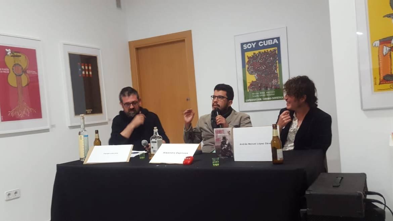 Presentación en Valencia de «Agenbite of inwit», la nueva novela de Alejandro Espinosa Fuentes (05/04/2019)