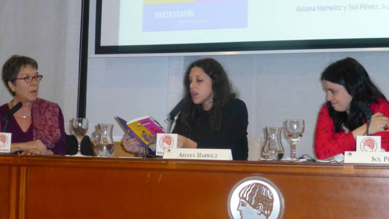 """Presentación de """"Tan intertextual que te desmayás"""" en la Residencia de Estudiantes de Madrid (15/11/2013)"""