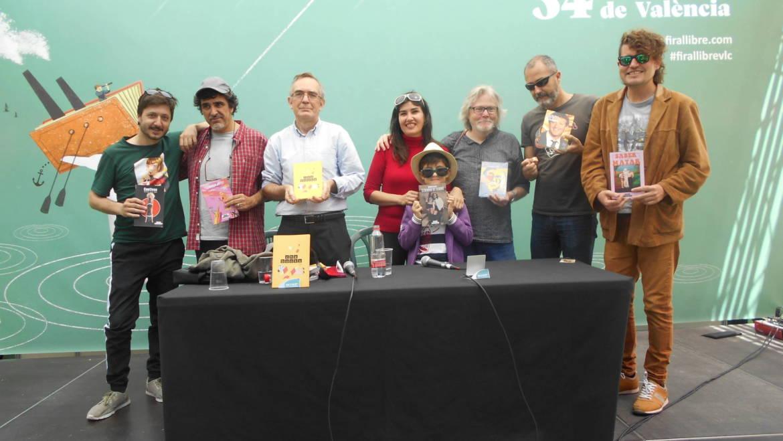 Presentación de la colección CHE BOOKS de narrativa contemporánea valenciana en La Fira del Llibre 04/05/2019