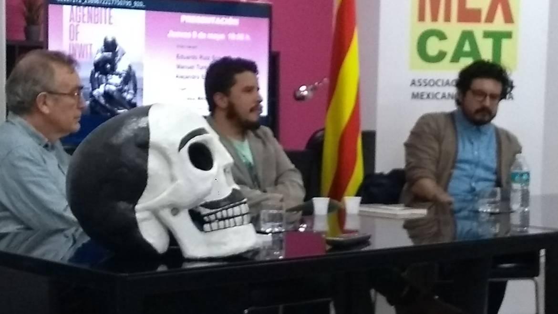 Presentación de «Agenbite of inwit» de Alejandro Espinosa Fuentes en Barcelona (09/05/2019)