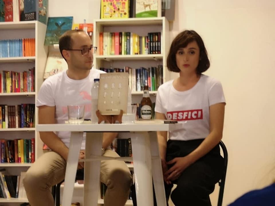 Presentación de «Mujeres blancas» con José Martínez Rubio y Violeta Ros  en Librería Bartleby Valencia (19/06/2019)