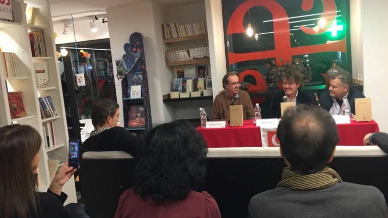 """Presentación de «Poesía y locura en la obra de Leopoldo María Panero"""" en Madrid (15/11/2019)"""