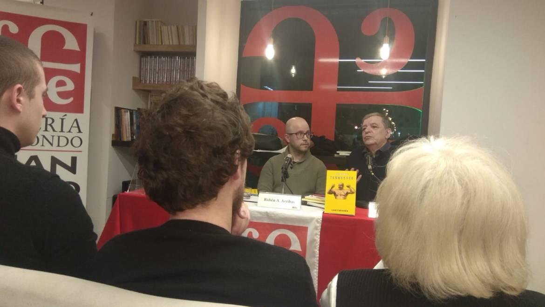 Luis Gusmán en España para la presentación de TENNESSEE: Madrid, 20 de febrero 2020