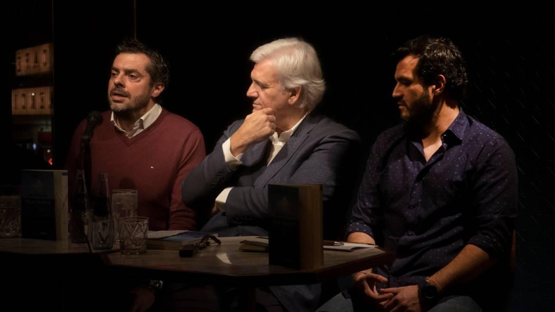 PRESENTACIÓN de «Necesito una isla grande» de Rafael Soler en Madrid con J. Pérez Azaústre y Jon Andion (02/03/2020)