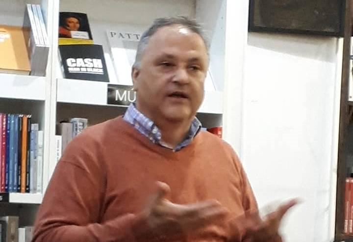 """Presentación de """"El cielo de Kaunas"""" de Jesús Zomeño en Valencia (16/11/2018)"""