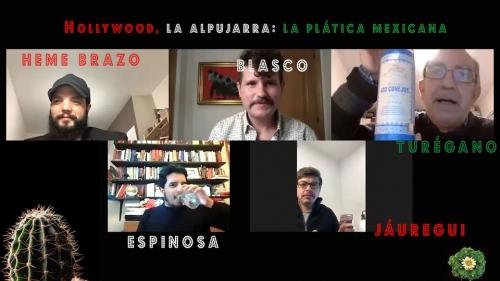 Plática mejicana, sobre «Hollywood, La Alpujarra» de Blasco Marqués 25/02/2021