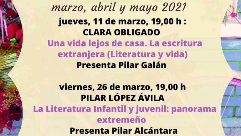Clara Obligado, videoconferencia: Una vida lejos de casa. La escritura extranjera. 11/03/2021