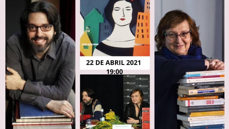 Jueves 22 de abril. Encuentro: Clara Obligado y Andrés Neuman dialogan entre orillas