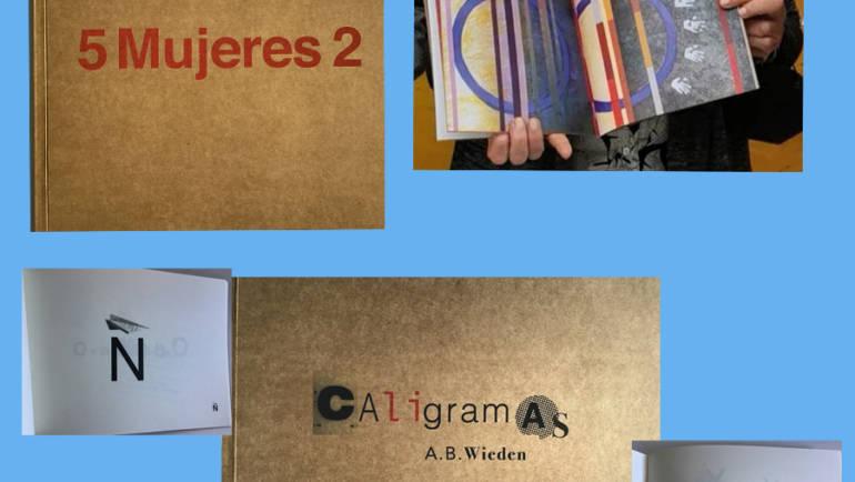 Dos libros artísticos se incorporan a nuestra nueva colección ARTES del sello Contrabando.