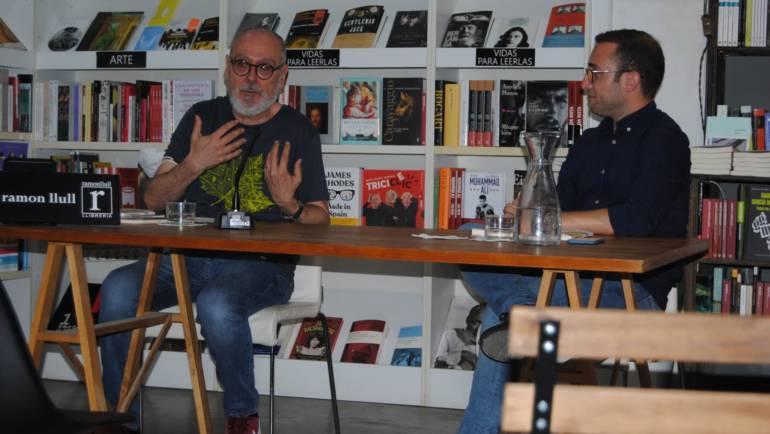 Presentación de «El día que fui Bill Murray» de Rafael Camarasa en la Ramon Llull. 18/05/2021