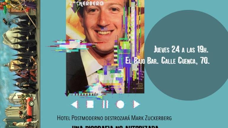 El autor destroza su obra  «Mark Zuckerberg: una biografía no autorizada» en El Bajo Bar