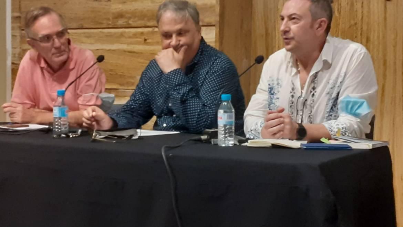 Presentación de EL 53 DE GILMORE PLACE, la nueva novela de Jesús Zomeño, en ELCHE 30/09/2021