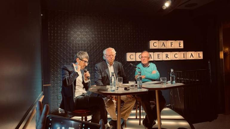 Presentación: CUADERNO DE CAMPO y CASOS COMPLETOS de Ferrer Lerín en Café Comercial MADRID 4/10/2021