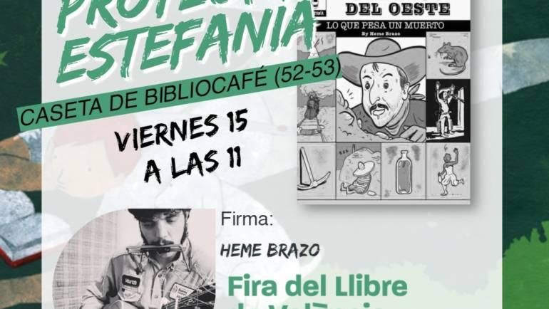 FIRMAS DE AUTORES en la Fira del Llibre de València el próximo fin de semana 15, 16 y 17 de octubre 2021