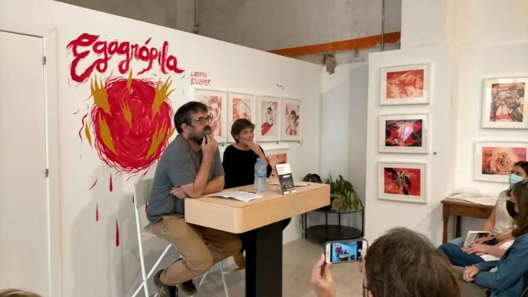Presentación nuevo «Che Book»: DESAYUNO EN BROOKLYN de Mireia Ferrer. Librería Bangarang 14/10/2021
