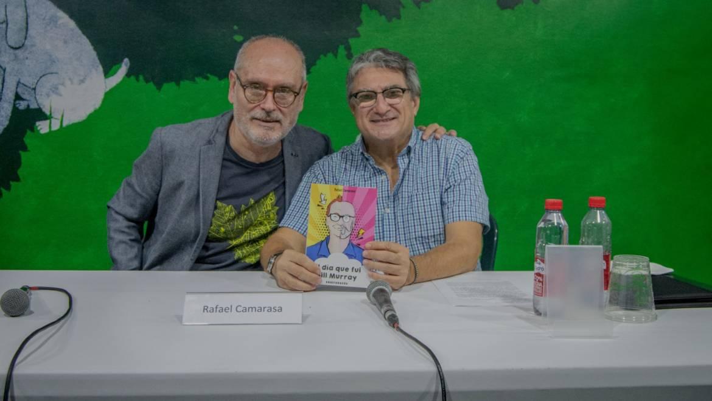 Presentación de «El día que fui Bill Murray» de Rafael Camarasa en la Fira del Llibre València 16/10/2021